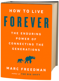 Book Cover for How to Live Forever by Marc Freedman
