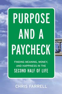 Book Cover for Purpose and a Paycheck by Chris Farrell