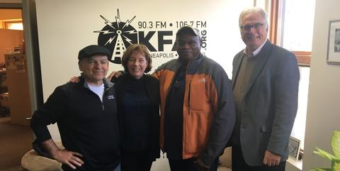 KFAI 10.29.2019 Steve Jewell, Kate Schaefers, Al McFarlane, Chris Farrell